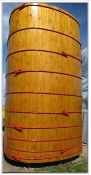 Holzbottich-Holztank 32000 Liter