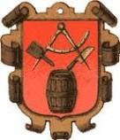 Altes Wappen Böttcherei