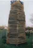 Fassholzlagerung