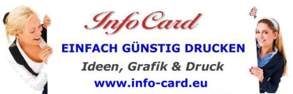 InfoCard - Einfach Günstig Drucken